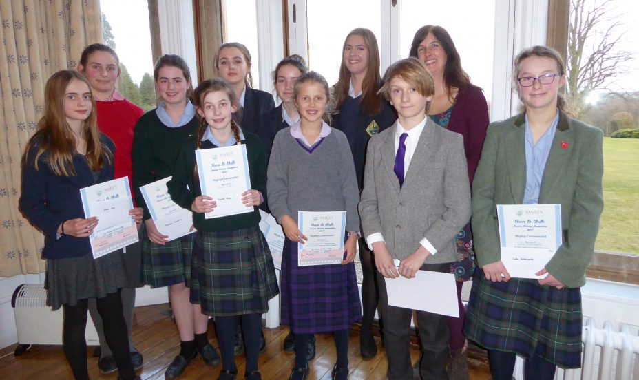 St Mary's Shaftesbury-Born to Write Competition Finale