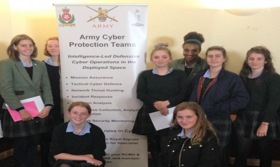St Mary's Shaftesbury-St Mary's Girls Win at Royal Signals STEM Cyber Challenge 5
