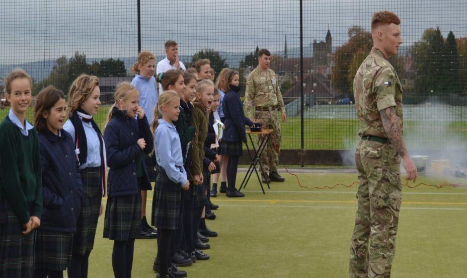St Mary's Shaftesbury-Army BASE hold STEM day for UIII and LIV