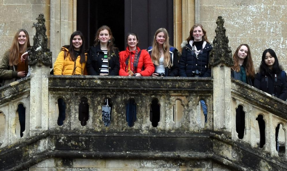 St Mary's Shaftesbury-GSCE Photography Trip to Lacock Abbey