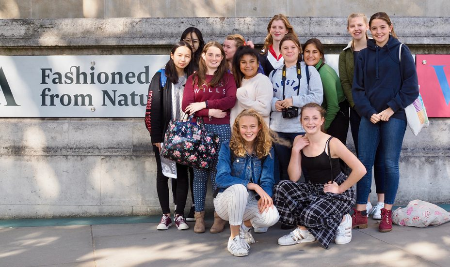 St Mary's Shaftesbury-Textiles Trip to V&A 3