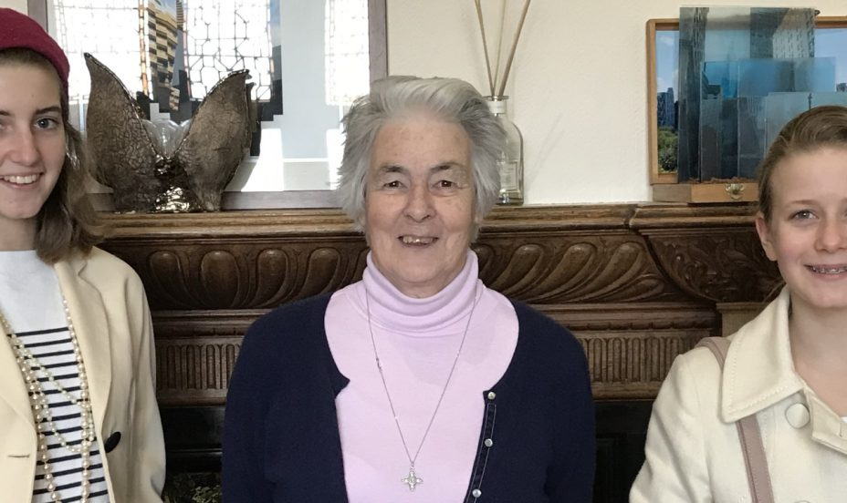 St Mary's Shaftesbury-Interview with Sister Ann CJ