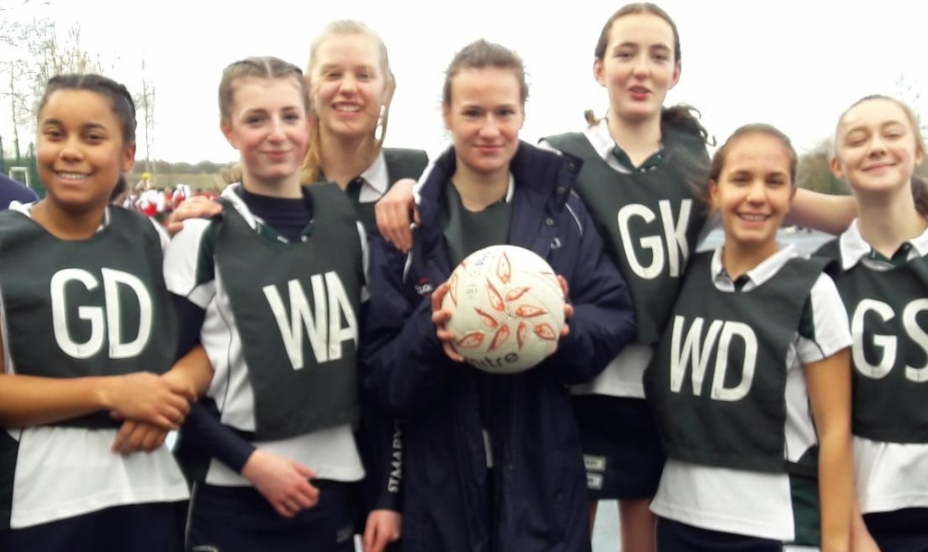 St Mary's Shaftesbury-U15 Netball Team Qualify for County Finals