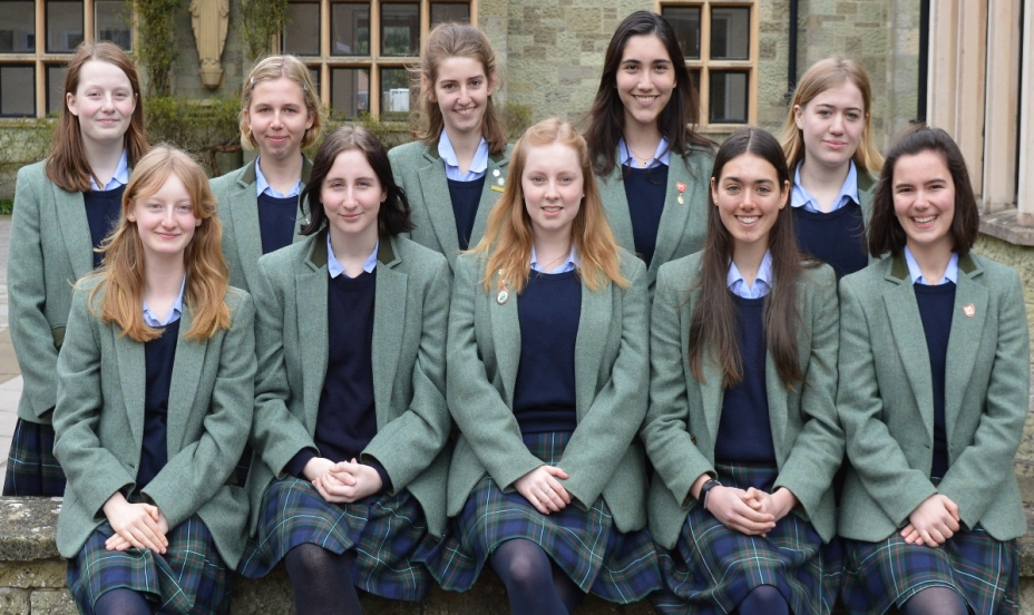 St Mary's Shaftesbury-Senior Prefect Team