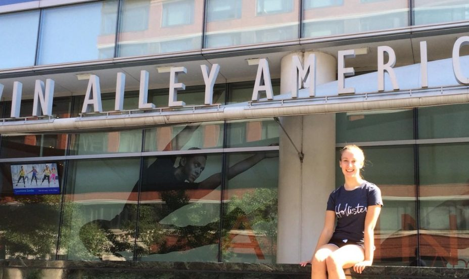 St Mary's Shaftesbury-UVI Pupil Wins Award to Fordham University and Ailey School of Dance in New York 1