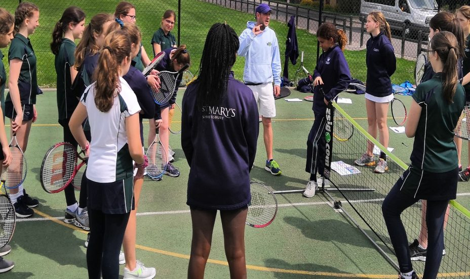 St Mary's Shaftesbury-Tennis Leaders Course