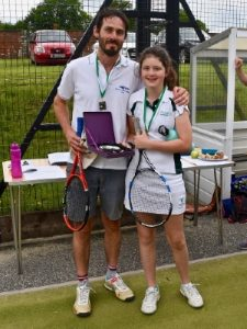 St Mary's Shaftesbury-Parent-Daughter Tennis 2019 11