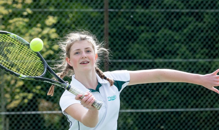 St Mary's Shaftesbury-Parent-Daughter Tennis 2019 14
