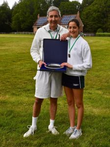 St Mary's Shaftesbury-Parent-Daughter Tennis 2019 4