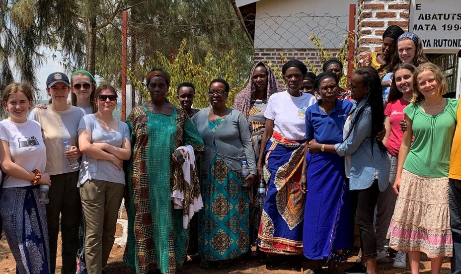 St Mary's Shaftesbury-Pupils visit Rwanda to work with charity supporting genocide survivors