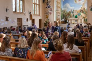 St Mary's Shaftesbury-150 alumna return to St Mary's for 75th Anniversary Mass & Lunch