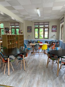 St Mary's Shaftesbury-Welcome to St Mary's New Café, 'The Hub' 2