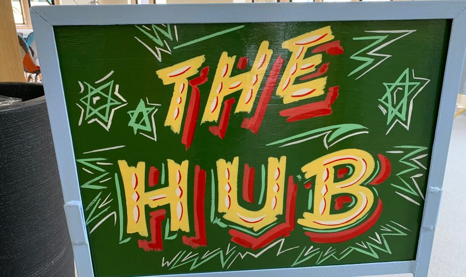 St Mary's Shaftesbury-Welcome to St Mary's New Café, 'The Hub' 3